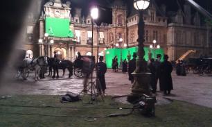 Crowd day on Sherlock Holmes 2