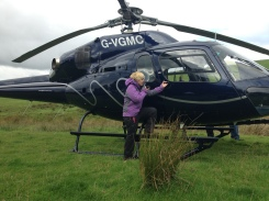 Helicopter cam on Vera